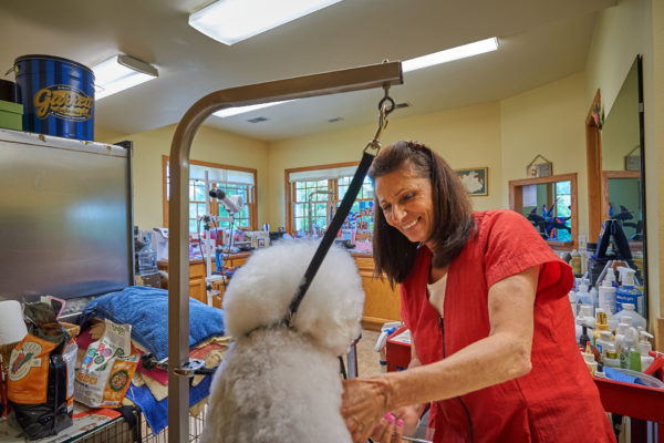 Deb Grooming at The Dogwoods Mount Horeb, WI