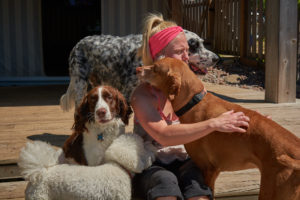 Dog Hugs at the Dogwoods Mount Horeb WI